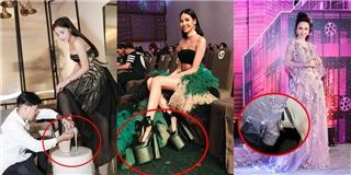 Những đôi giày nhìn không đi nổi của mỹ nhân Việt