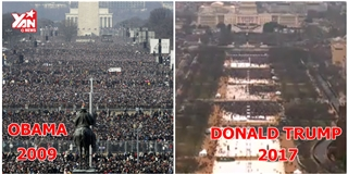Sự khác biệt lễ nhậm chức Tổng thống Mỹ giữa Trump và Obama
