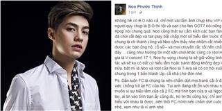 """Noo Phước Thịnh xác nhận không có """"biển đen"""" khi anh đang biểu diễn"""