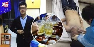Tất niên, chàng Tiến sĩ tương lai đột tử vì bị ép uống rượu quá đà