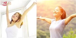 Bài tập giúp bạn tích trữ  năng lượng may mắn  cho cả ngày
