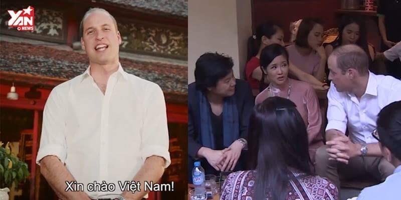 Hoàng tử Anh William chúc Tết bằng tiếng Việt