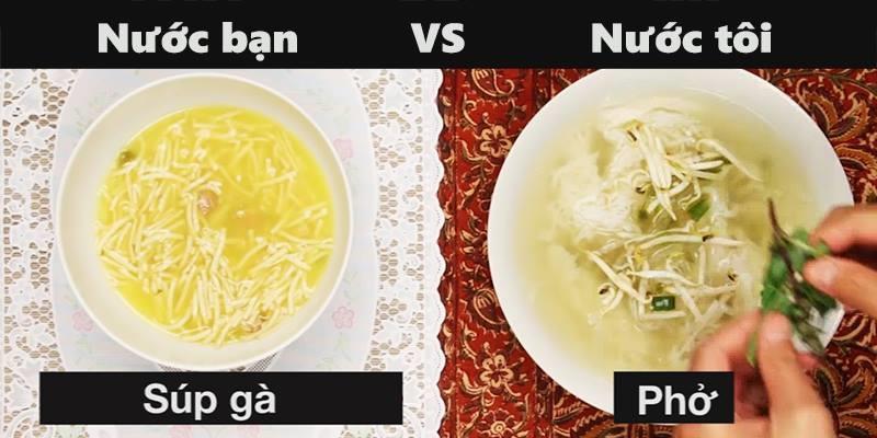 Phong cách ăn giữa người Châu Mỹ và Châu Á