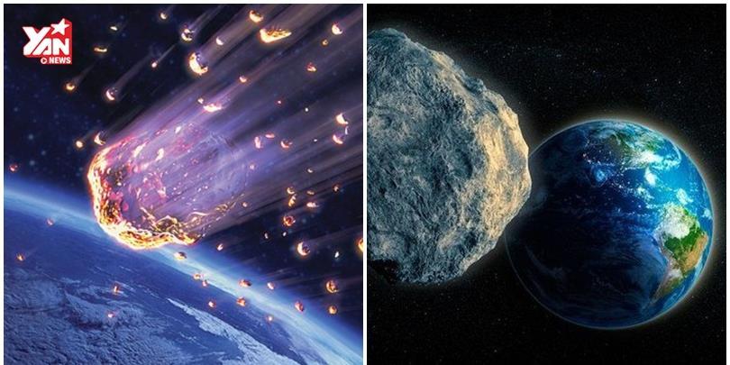 Trái Đất suýt bị hủy diệt bởi một thiên thạch bằng tòa nhà 10 tầng