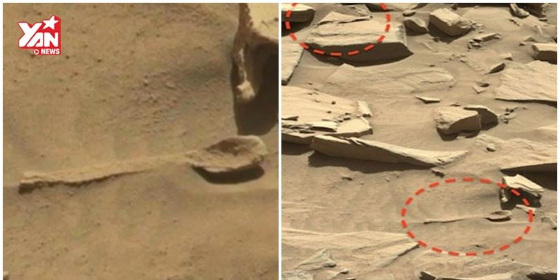 Tìm thấy chiếc thìa của người khổng lồ trên sao Hỏa
