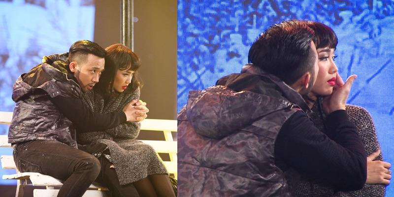 Trấn Thành bất ngờ cưỡng hôn Diệu Nhi