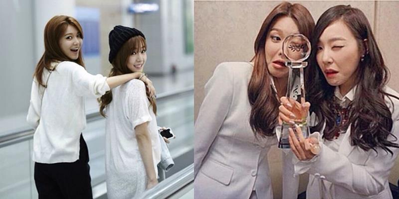 Tình bạn đáng ngưỡng mộ của hai cô gái xinh đẹp nhóm SNSD