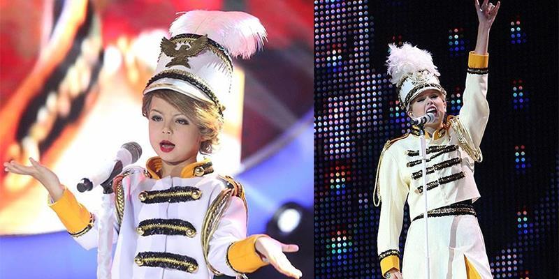 Dân mạng phát sốt vì phiên bản 7 tuổi hoàn hảo nhất của Taylor Swift