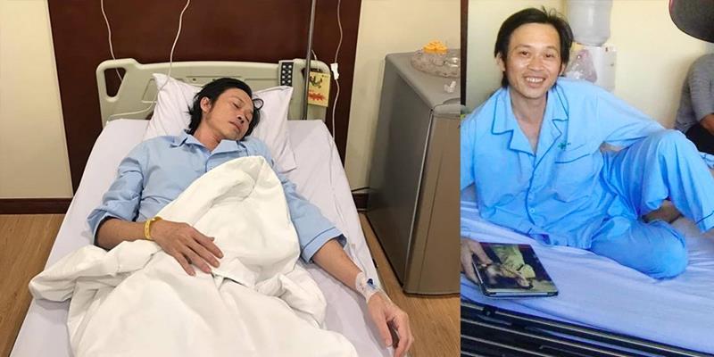 Tỉnh lại sau cơn mê man, sức khỏe Hoài Linh đang dần hồi phục