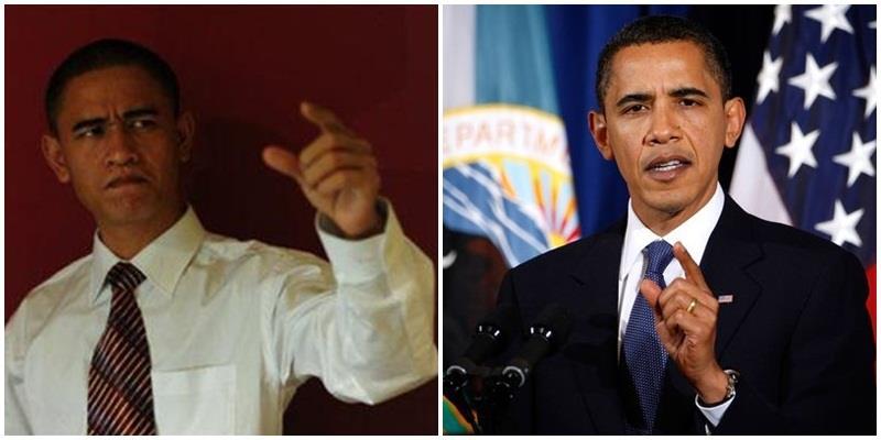 Kiếm bộn tiền nhờ khuôn mặt giống Tổng thống Obama