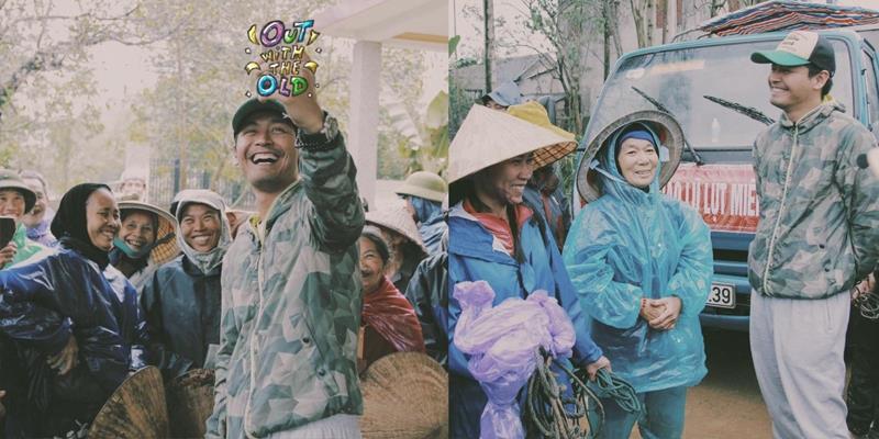 Dù Tết cận kề, MC Phan Anh vẫn hết lòng vì người dân miền Trung