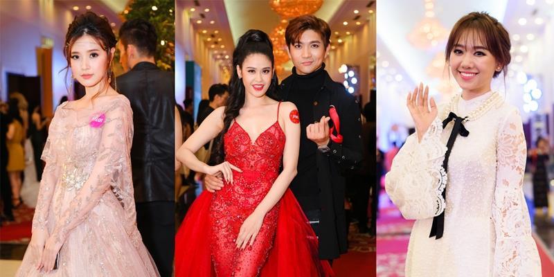Dàn sao Việt xúng xính trang phục lộng lẫy dự Hội xuân 2017