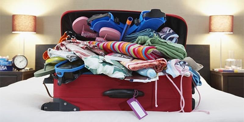 """Đây là cách để bạn """"nhét cả tủ đồ"""" vào vali khi du lịch dịp Tết"""