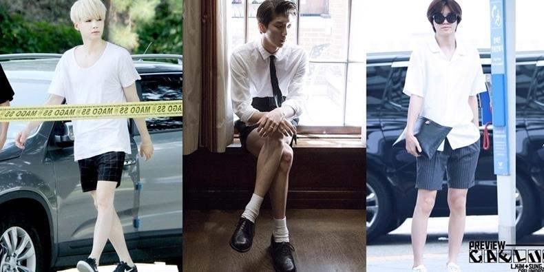 """""""Phát hờn"""" trước những đôi chân nuột nà của loạt mĩ nam Kpop"""
