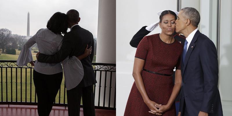 Xúc động những hình ảnh cuối cùng của vợ chồng Obama tại Nhà Trắng