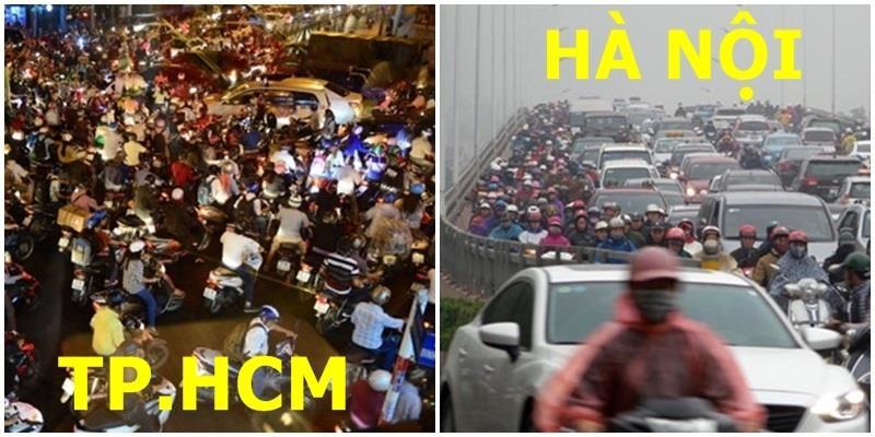 """Hà Nội – TP.HCM """"ngập trong biển người"""" những ngày giáp Tết"""