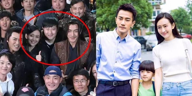 """Không ngại thị phi, Lưu Khải Uy vẫn rạng rỡ chụp ảnh với """"người tình"""""""