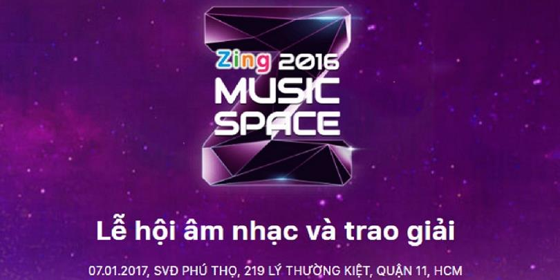 Những điểm nổi bật ở lễ trao giải Zing Music Awards 2016