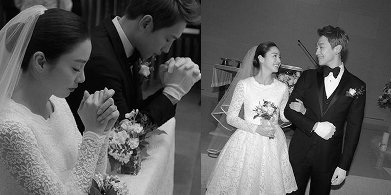 """Siêu giàu nhưng Kim Tae Hee vẫn diện váy cưới """"siêu tiết kiệm"""""""