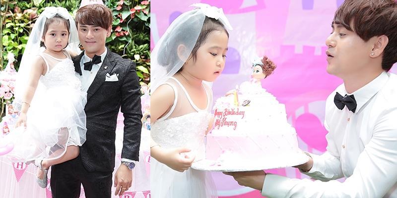 Ưng Đại Vệ lần đầu tổ chức tiệc sinh nhật hoành tráng cho con gái