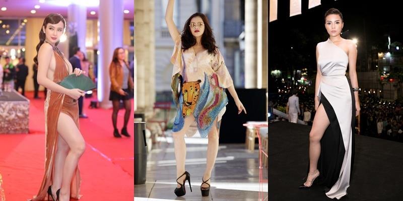 Mỹ nhân Việt tạo dáng kém duyên, váy áo có đẹp mấy cũng vô nghĩa!