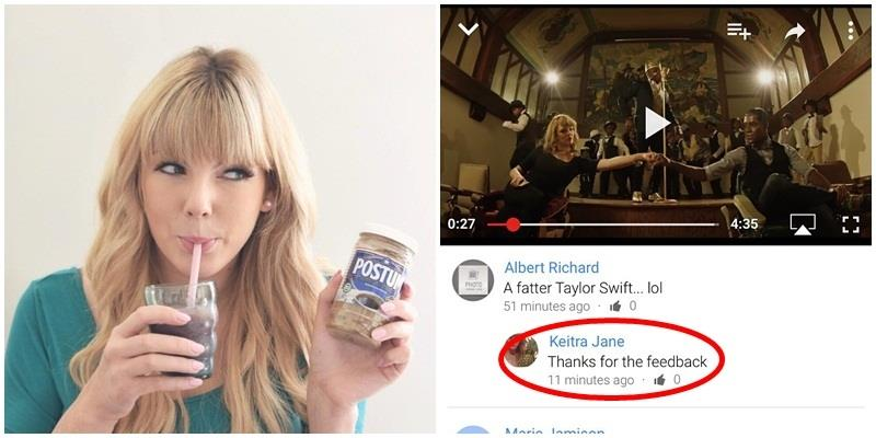 Bị bắt nạt vì… giống Taylor Swift, cô gái trẻ đã đáp trả thế này!