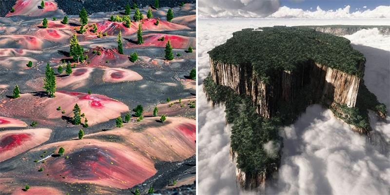 20 cảnh đẹp khó tin có thật trên Trái Đất