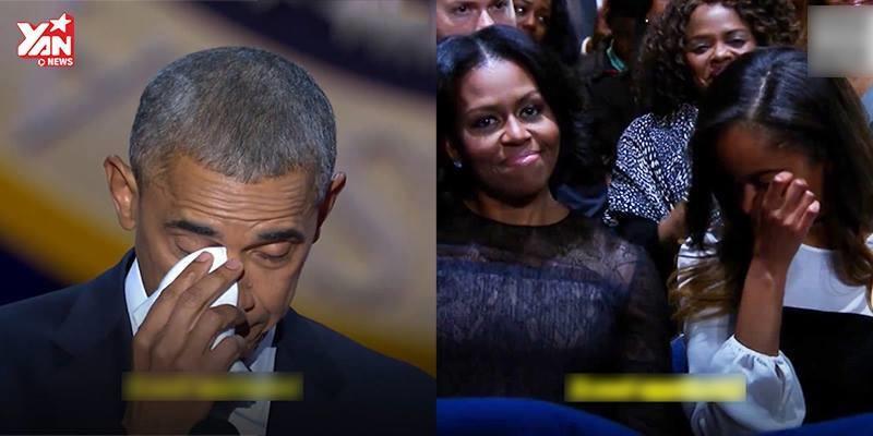 Xúc động với lời cảm ơn của Tổng thống Obama dành cho vợ