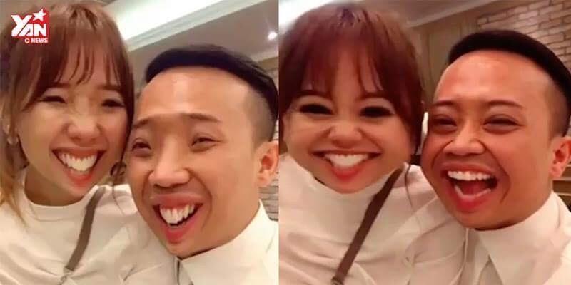 Vui nhộn với màn chúc Tết độc đáo của vợ chồng Trấn Thành - Hari Won