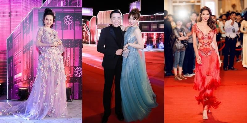"""Sau đám cưới, Hari Won bắt đầu """"cạnh tranh"""" vị trí """"Nữ hoàng thảm đỏ"""""""