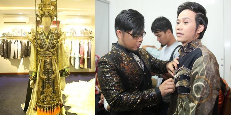 """""""Choáng"""" với trang phục nặng hơn 10kg của Hoài Linh trong """"Táo quân"""""""