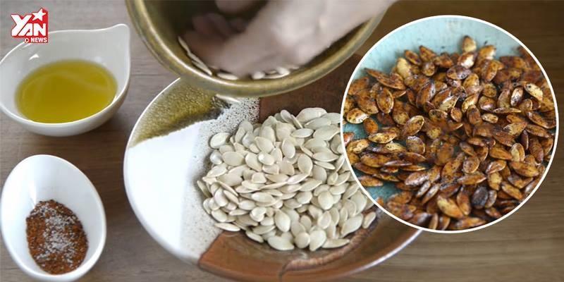 Cách rang hạt bí nhâm nhi ngày tết vừa ngon vừa bổ mà chẳng lo độc hại