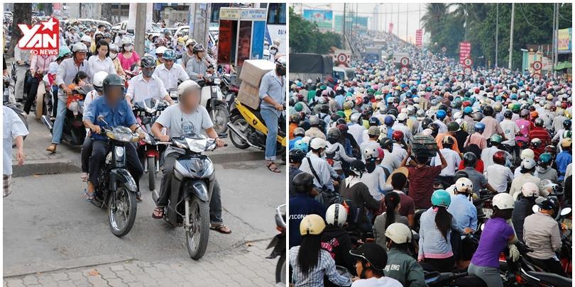 Dân Sài Gòn hiến kế tuyệt chiêu đối phó với kẹt xe