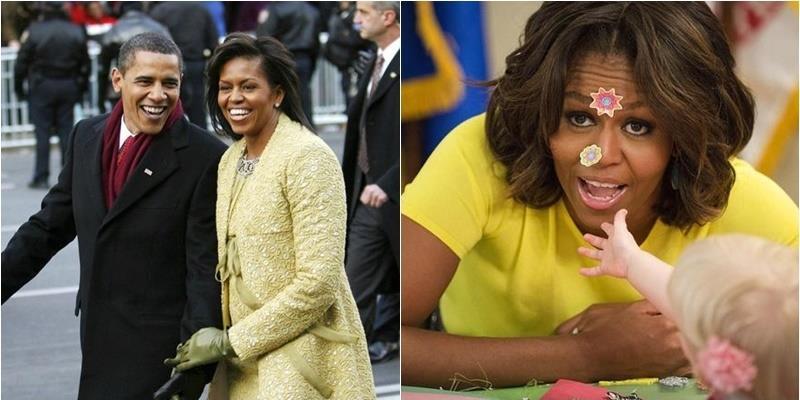 Chia tay cương vị nhưng mọi người sẽ nhớ mãi hình ảnh bà Michelle