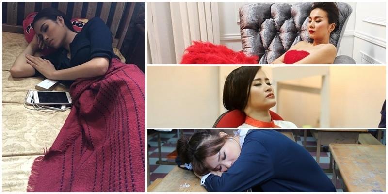 Ngắm mỹ nhân Việt ngủ say nhưng vẫn không quên tạo dáng