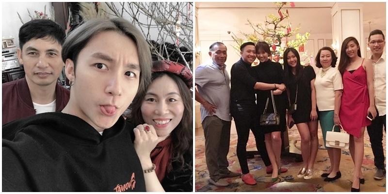 Sau một năm vất vả, sao Việt bình yên bên gia đình ngày đầu Xuân