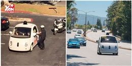 Xe tự lái của Google bị cảnh sát 'tấp vào lề' vì chạy quá 'rùa'