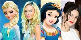 yan.vn - tin sao, ngôi sao - 14 khoảnh khắc sao nữ trông giống hệt công chúa phim hoạt hình Disney