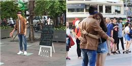 Chàng trai trên phố đi bộ: 'Tôi là gay, bạn muốn ôm hay tạt nước'