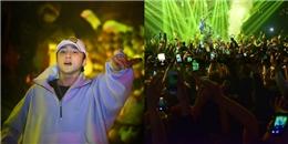"""yan.vn - tin sao, ngôi sao - Sơn Tùng MTP lần đầu hát remix Lạc trôi khiến fan Hà Nội """"phát cuồng"""""""