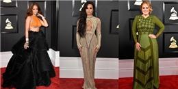 """""""Đỏ mắt"""" tìm váy đẹp tại lễ trao giải Grammy 2017"""