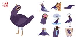 'Chú chim quẫy' này hiện đang gây sốt rần rần trên mạng