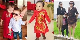 Dàn nhóc tỳ sao Việt ăn diện sành điệu, tung tăng xuống phố du xuân