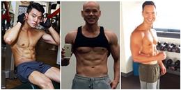 'Xịt máu mũi' trước cơ bắp cuồn cuộn của mỹ nam Việt trong phòng gym