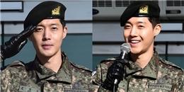 Sau 2 năm sóng gió, Kim Hyun Joong cuối cùng cũng xuất ngũ