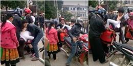 Lại một cô gái kêu gào thảm thiết vì bị 'bắt vợ' ngay giữa chợ