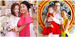 Con gái Đoan Trang đã lớn và 'nói tiếng Anh như gió' ở tuổi lên 3