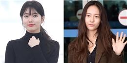 yan.vn - tin sao, ngôi sao - Suzy và Krystal: Mĩ nhân 94 so kè tại sân bay, ai hơn ai?