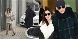 Sau Tết, vợ chồng Rain – Kim Tae Hee hạnh phúc đi sắm đồ cho tổ ấm mới