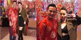 Mặc lùm xùm nợ nần, vợ chồng Jennifer Phạm vẫn vui vẻ đón Tết